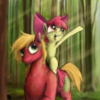 A walk in the woods. by Theponysketchguy