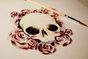 Skull Design by NirmtwarK-s