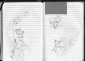 180 Notebook- Page 100 and 101 by FoxTone