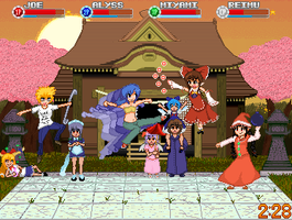 Gensokyo All-Star Rumble by AF1987