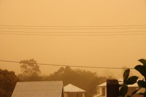 Brisbane Dust Storm Abating by nightengaleprincess
