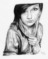Study of another Girl by jcarignan443