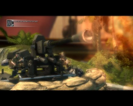 TSCW: U.S Soldiers Firing A Anti AirCraft: Level 3 by nmort69