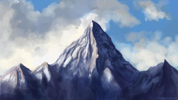 Purple Mountains by Ankyloce