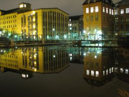 Buildings by the water by jonatanolofsson