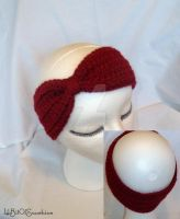 Turban Headband Garnet by MystycX