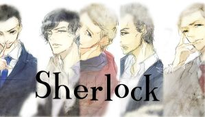 Men in Sherlock by m0bilis