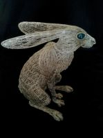 Large Hare 7 by braindeadmystuff