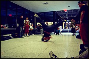 Bboys in Motion-Halo by soldierofsolace