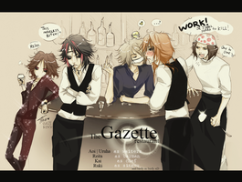 The Gazette restaurant by KaZe-pOn