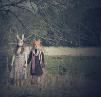 Master Hare and Reynard the Fox by Moonlight-Traveller