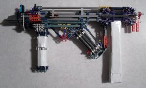 MS25 - Knex SMG Weapon by MadArtMan0817