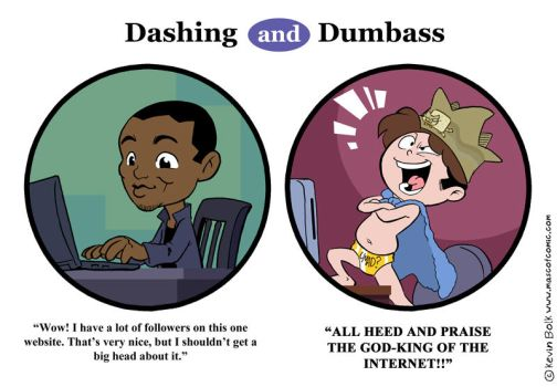 Dashing and Dumbass: Popularity by kevinbolk