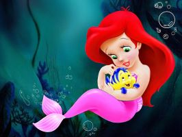 Ariel Baby by AerithGainsborough22
