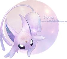 Espeon by sonicelectronic