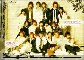 Super Junior and DBSK by OmfgitsPocky211