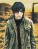 Trent Reznor - Nine Inch Nails by ZakuroPanic