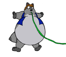 Inflate-A-Frank by Frank-Raccoon