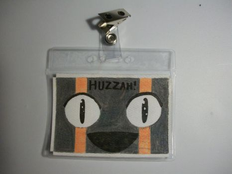 Balrog 'HUZZAH' Event Badge by GhostXMachina