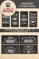 Chalkboard Lunchbox Printables by Whimsical-Adventure