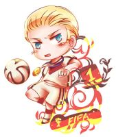 FIFA 2014 by orangefigure