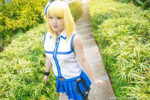 Lucy Heartfilia cosplay by GreenTea-Ice