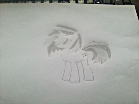 Vinyl Scratch pencil by Dont-worry-cookie