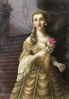 Historically accurate Disney - Belle by Niobesnuppa