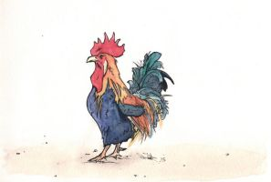 Rooster by LeftHandedMutant