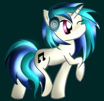 Vinyl Scratch by MoonlightRhythm