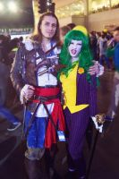 Joker and Edward Kenway  2 by HydraEvil
