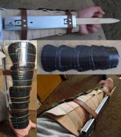 Hidden Blade and Forearm Armor by Aphaestus