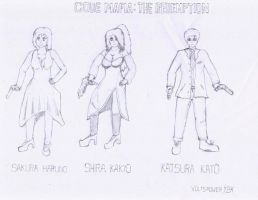 Code Mafia- TR Characters by VoltsPower2K
