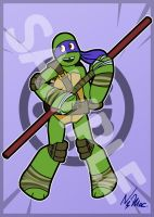 Sale: TMNT 2012 Art Cards - Don by TMNT-Raph-fan