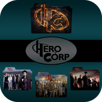 Hero Corp folder icons by LeaBeaudoin