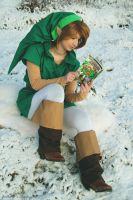 Link OoS - Casual reading by Grethe--B