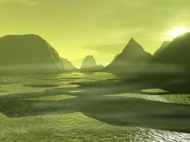 The marshes I by DameOdessa