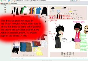 Deathnote Dress-up by Prepare4someDOOM