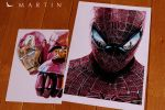 .: Spidey vs IronMan ~ color drawings :. by Martin--Art