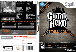 Guitar Hero Metallicolt Squii Front/Side/Back by 1992zepeda