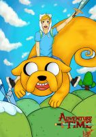 Finn and Jake by Neko-pinku