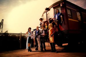 FFVIII: Timber Trains by Astellecia