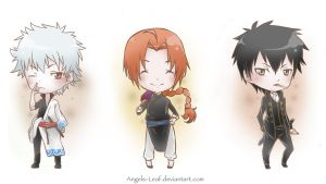 Gintama: Chibi Time by Angels-Leaf