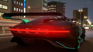 Mercedes Benz Vision GT at special Stage 5 by NightmareRacer85