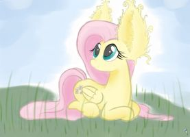 Fluttershy by Heir-of-Rick