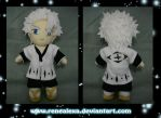Hitsugaya Toshiro plush - SOLD by renealexa-plushie