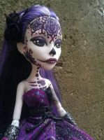 Day of the Dead Spectra Monster High by AdeCiroDesigns