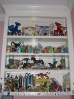 My Bookcase of Things by ShroudofShadows