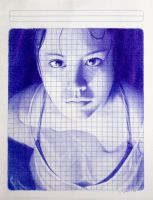Math Class - quick ballpoint pen study by LopezLorenzana