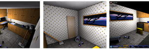 UT2004 Kitchen Blitz Game Level by Aleeart7